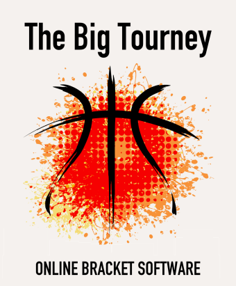 The Big Tourney March Madness bracket logo